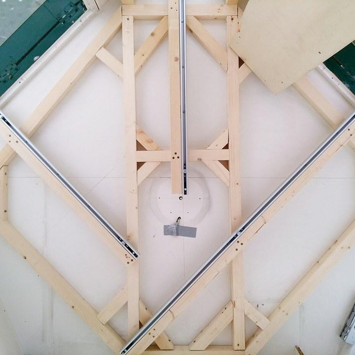 La structure des tiroirs, tasseaux et rails