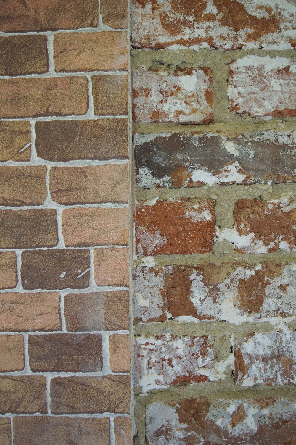 Brick versus Fakebrick