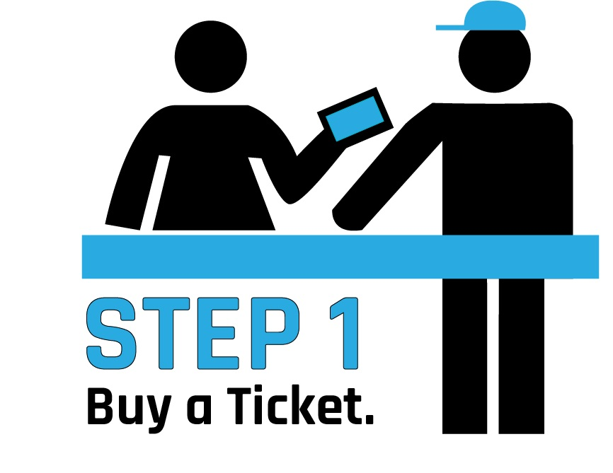 bUY A TICKET FROM YOUR FAVORITE VENDOR - THE CHOICE IS YOURS!