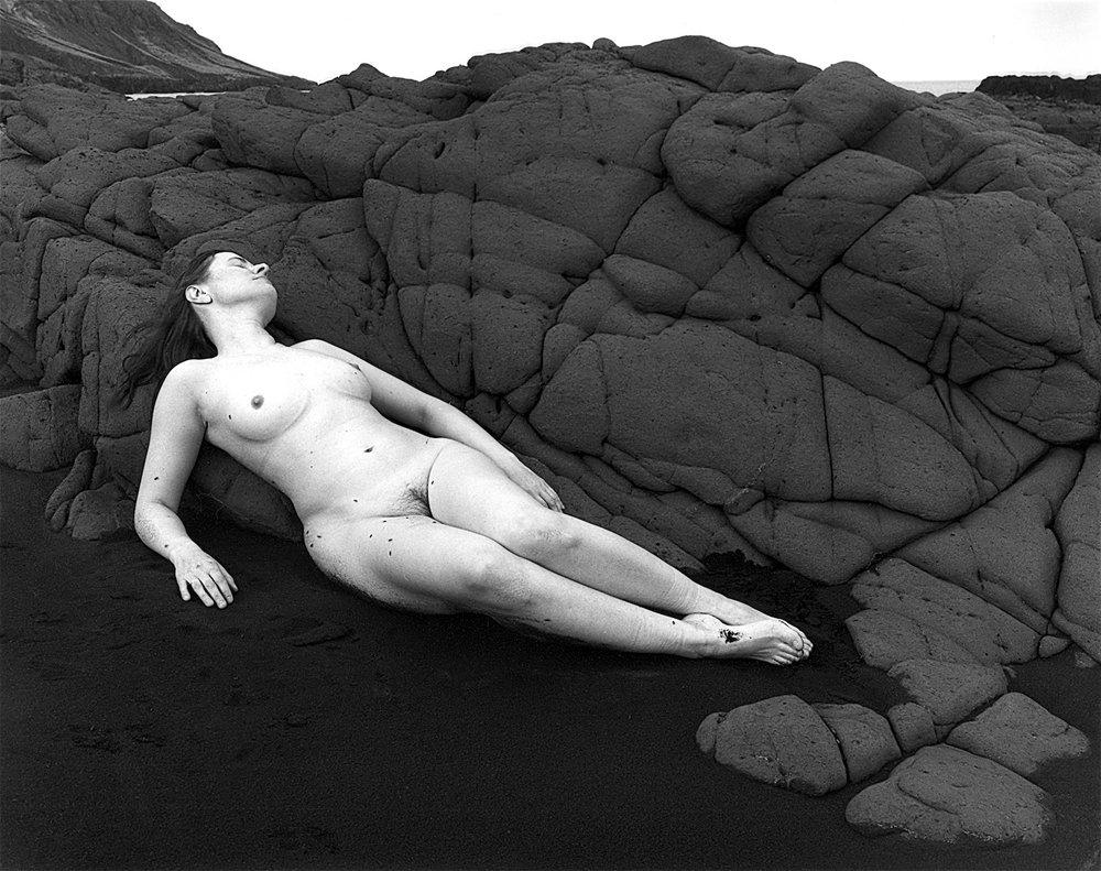 Self Portrait, Nude, Landsendi, Iceland