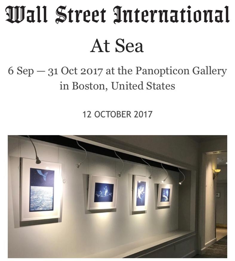 Wall Street International Magazine October 12, 2017