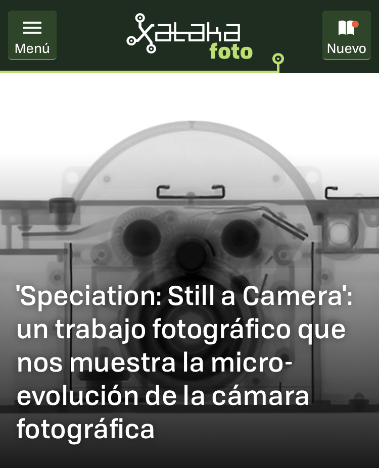 Speciation: Still a Camera  May 4, 2018