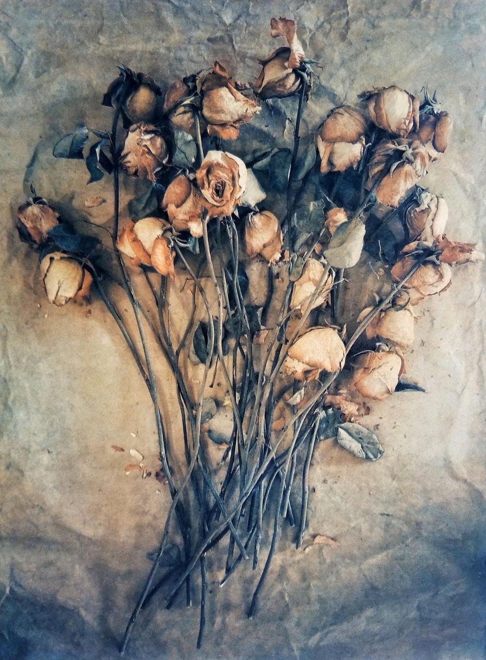 Spent Valentine Roses