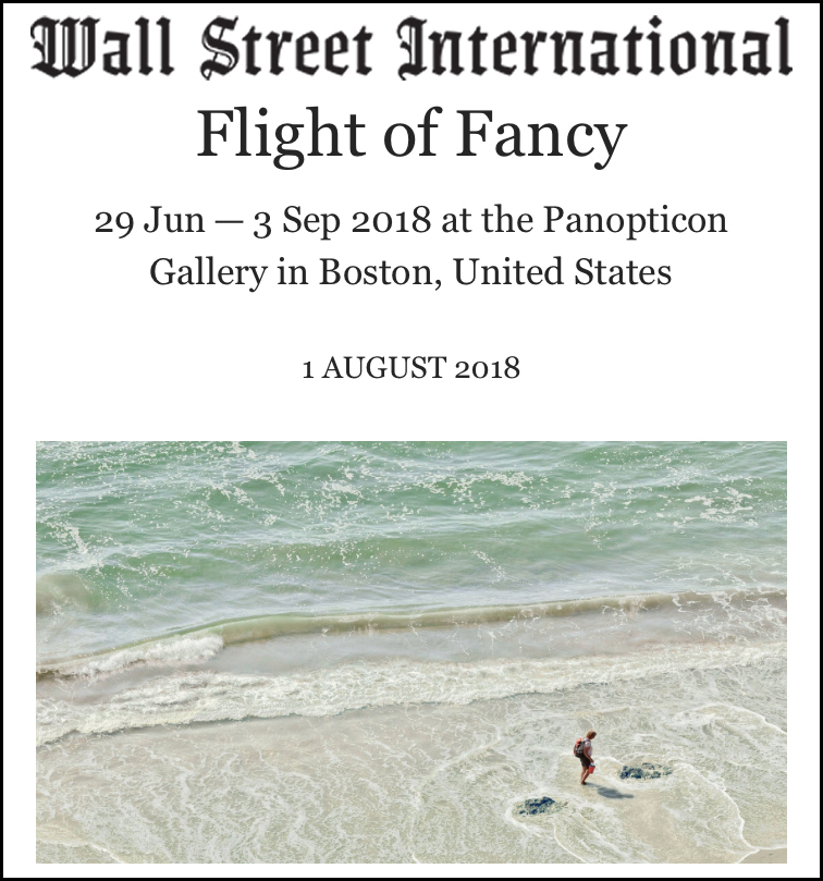 Flight of Fancy at Panopticon Gallery  August 1, 2018