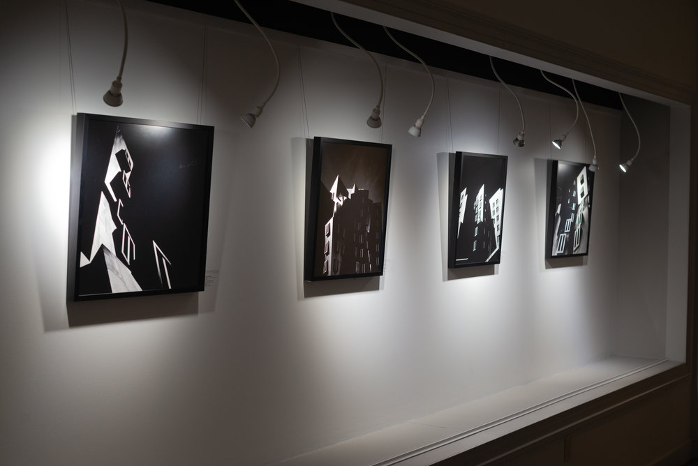 Seriñana exhibition photo