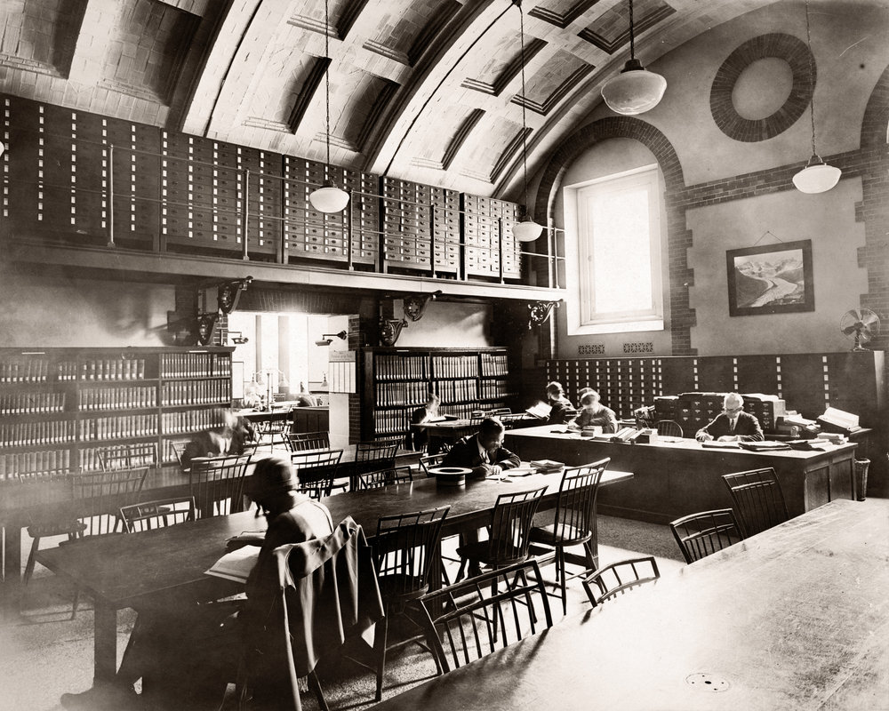 Boston Public Library, Reading Room
