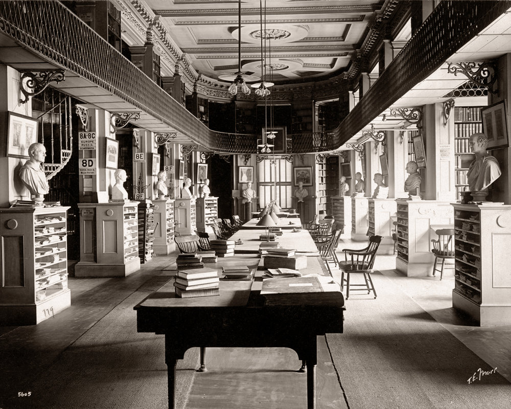 Boston Athenaeum History Section