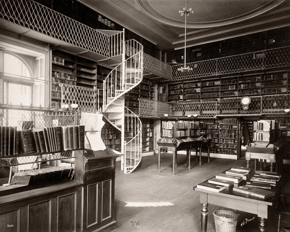 Boston Athenaeum Interior