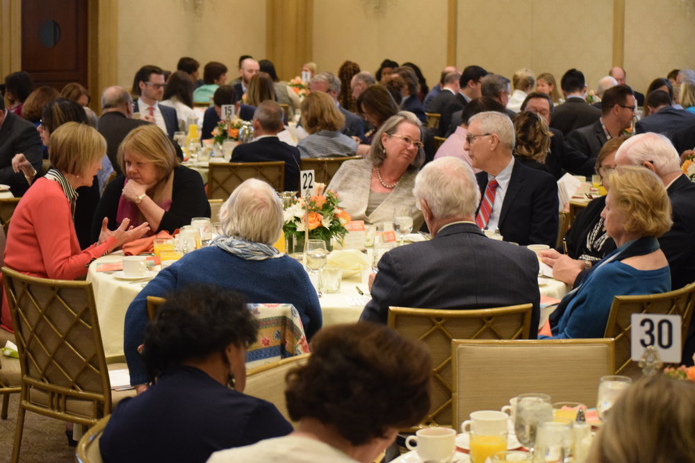 The Building a Brighter Future Breakfast drew more than 300 people.