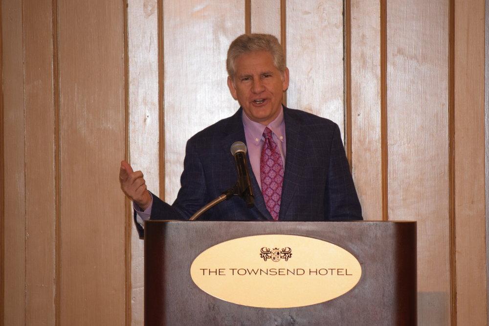 Guy Gordon, host at WJR Radio , served as the emcee.
