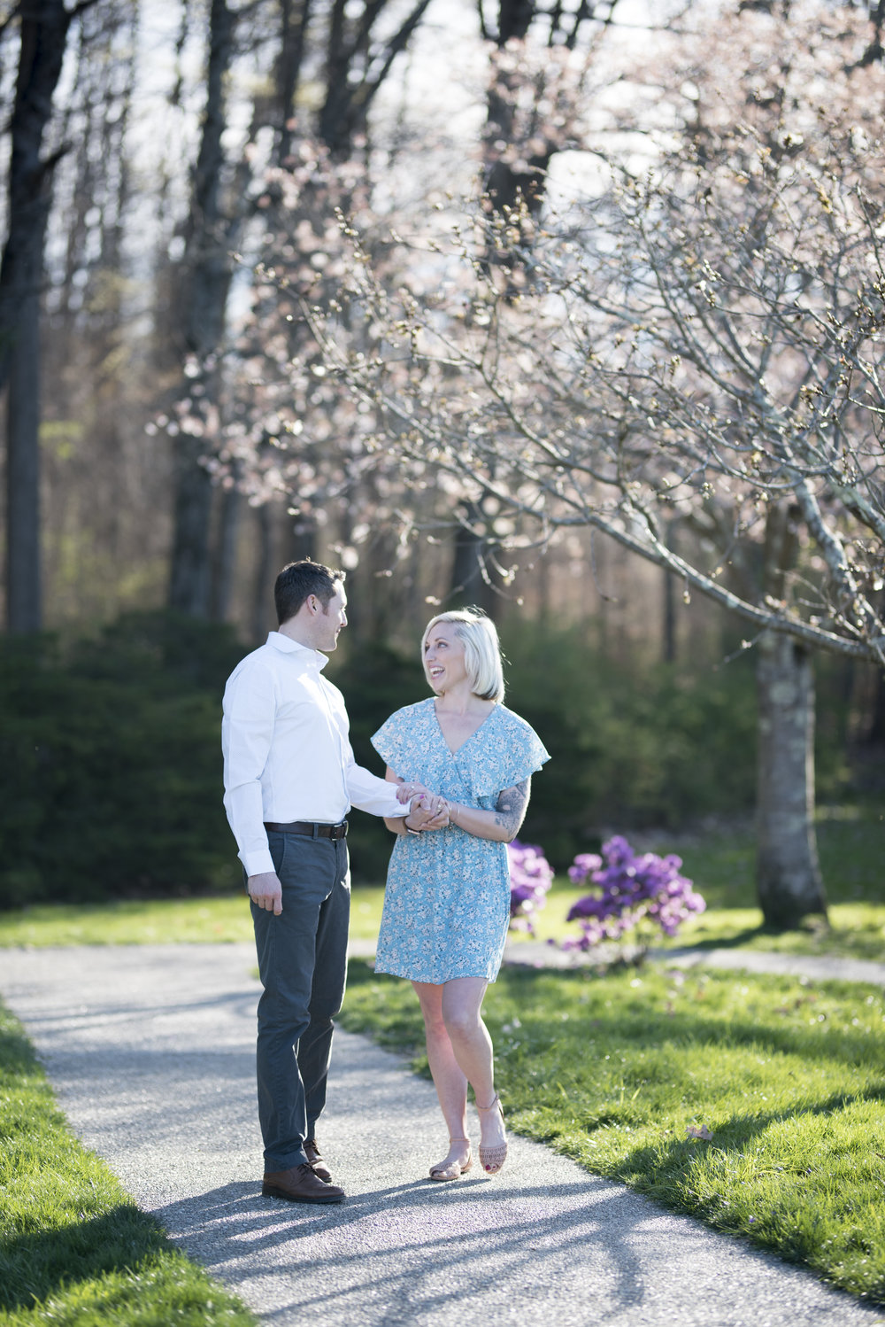 Jesse and Justin's Engagement Session, Dawes Arboretum, Newark, Ohio
