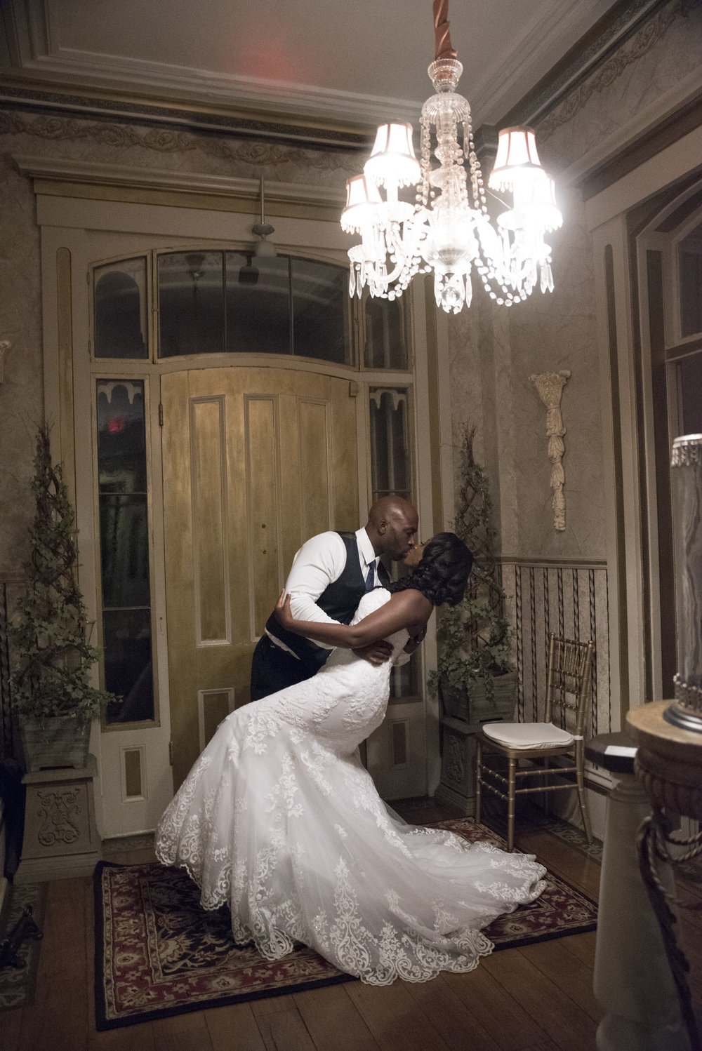 Dominica and Chance's Wedding at Taylor Mansion, Columbus