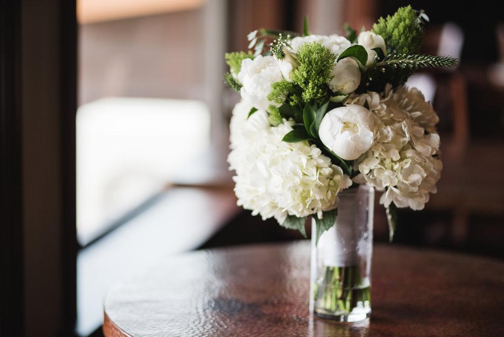 Bridal bouquet at Trout Club Wedding