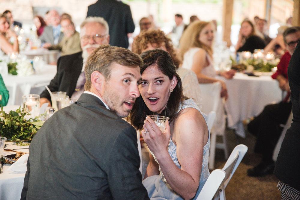 guests at wedding at trout club
