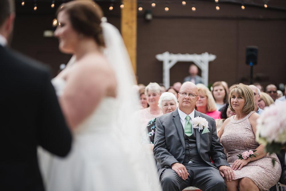 Outdoor wedding in columbus ohio