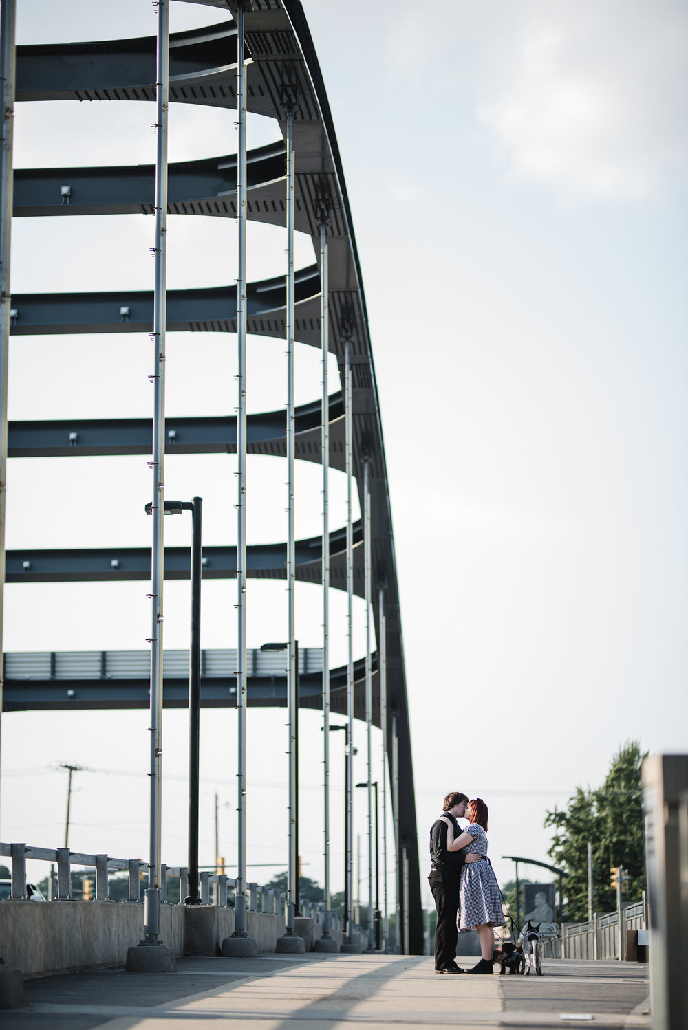 Fort Wayne Indiana Engagement Photographer Columbus Lancaster Ohio wedding dogs