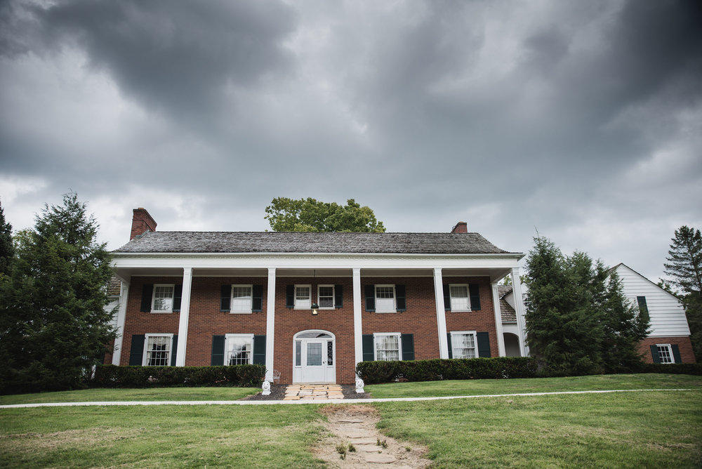 little brook meadows wedding lancaster ohio barn mansion