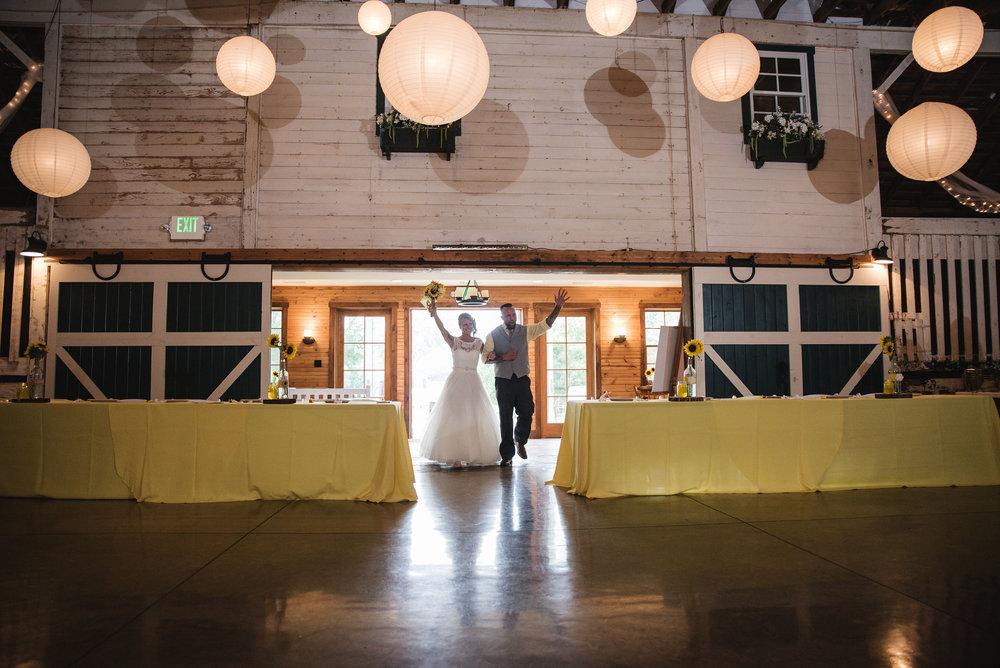 lancaster ohio wedding photographer couple reception