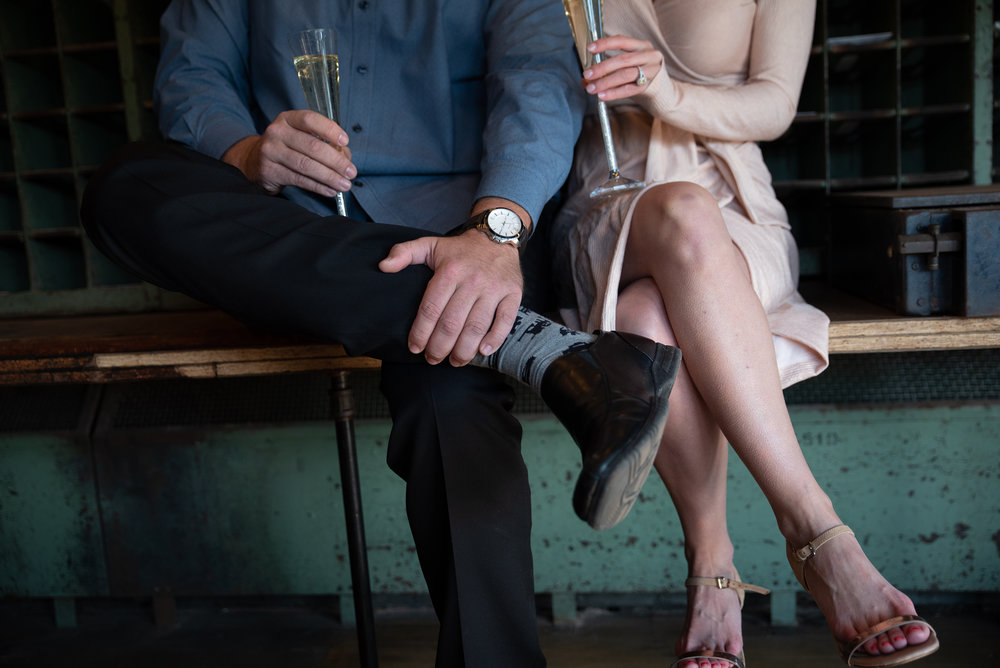 engagement photo details watch shoes socks