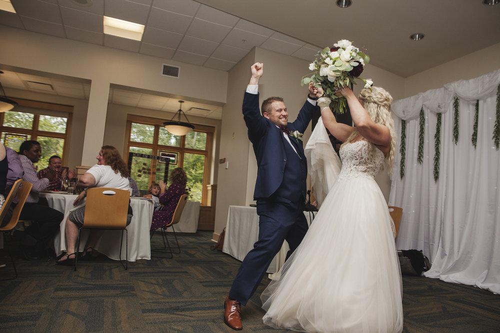 reception dancing wedding photos columbus ohio