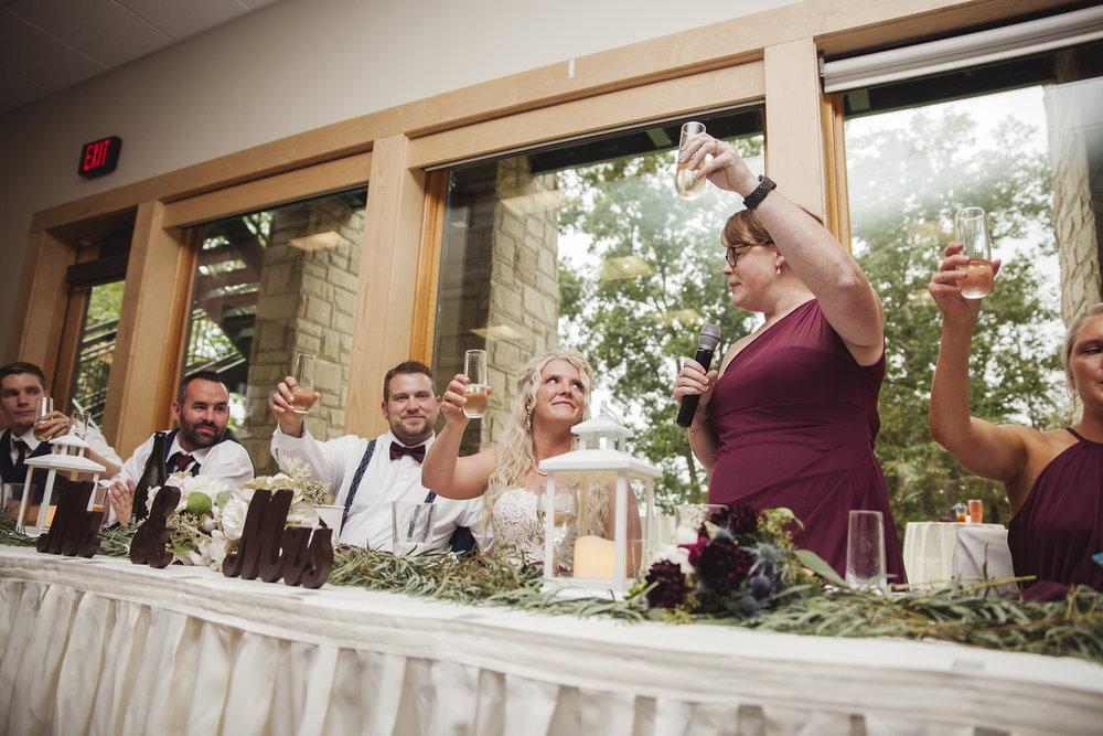 maid of honor speech wedding photographer columbus ohio