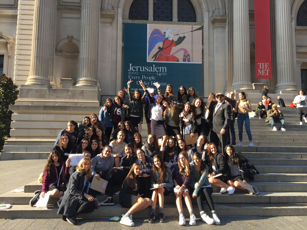 A trip to the Metropolitan Museum not only introduced students to the research process, it sparked their curiosity and got them excited about our project!