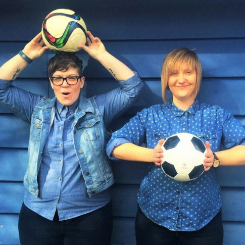 For Kicks - Hosts Jessica and Katie are interested in having guests who are connected to the Canadian soccer community.Their show is focused on the women's game, so most of their guests are connected to girls' and women's soccer, but they are also interested sharing stories about people and organizations that are helping grow the game in general in Canadian communities.