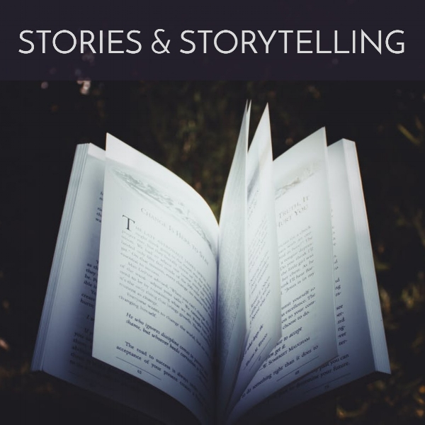 Stories : Makeshift Stories, Not There Yet   Storytelling : Bothy Storytelling, City of Champions, Let's Find Out, The Undad