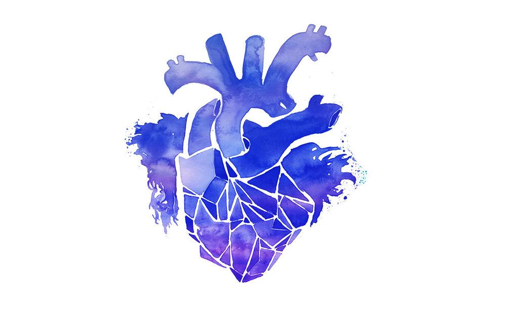 BLUE HEART -