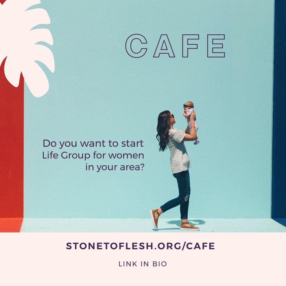 Craving to connect and build friendships with other young moms or single women?  If you are interested in starting CAFE or CAFE SOLO Group in your area,  CONTACT US