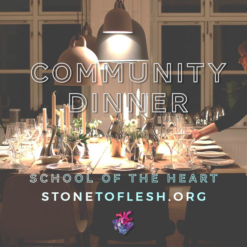 Community Dinners : monthly potluck chill outs in residential houses in Azusa, Riverside, La Verne, South El Monte and Santa Ana, all kids and teens friendly.