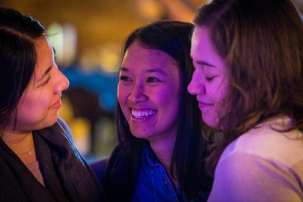 Lorraine, Arian and Erika