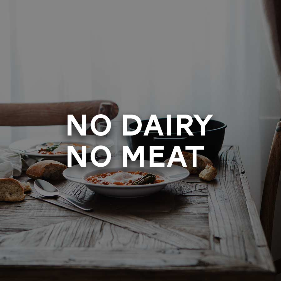 Tuesdays, Thursdays, Saturdays:  • Abstinence from: All Meats, Dairy Products and Eggs – no animal products. • No abstinence from: Shellfish, Grains, Vegetables & Vegetable Products, Olive Oil; Fruit, Wine