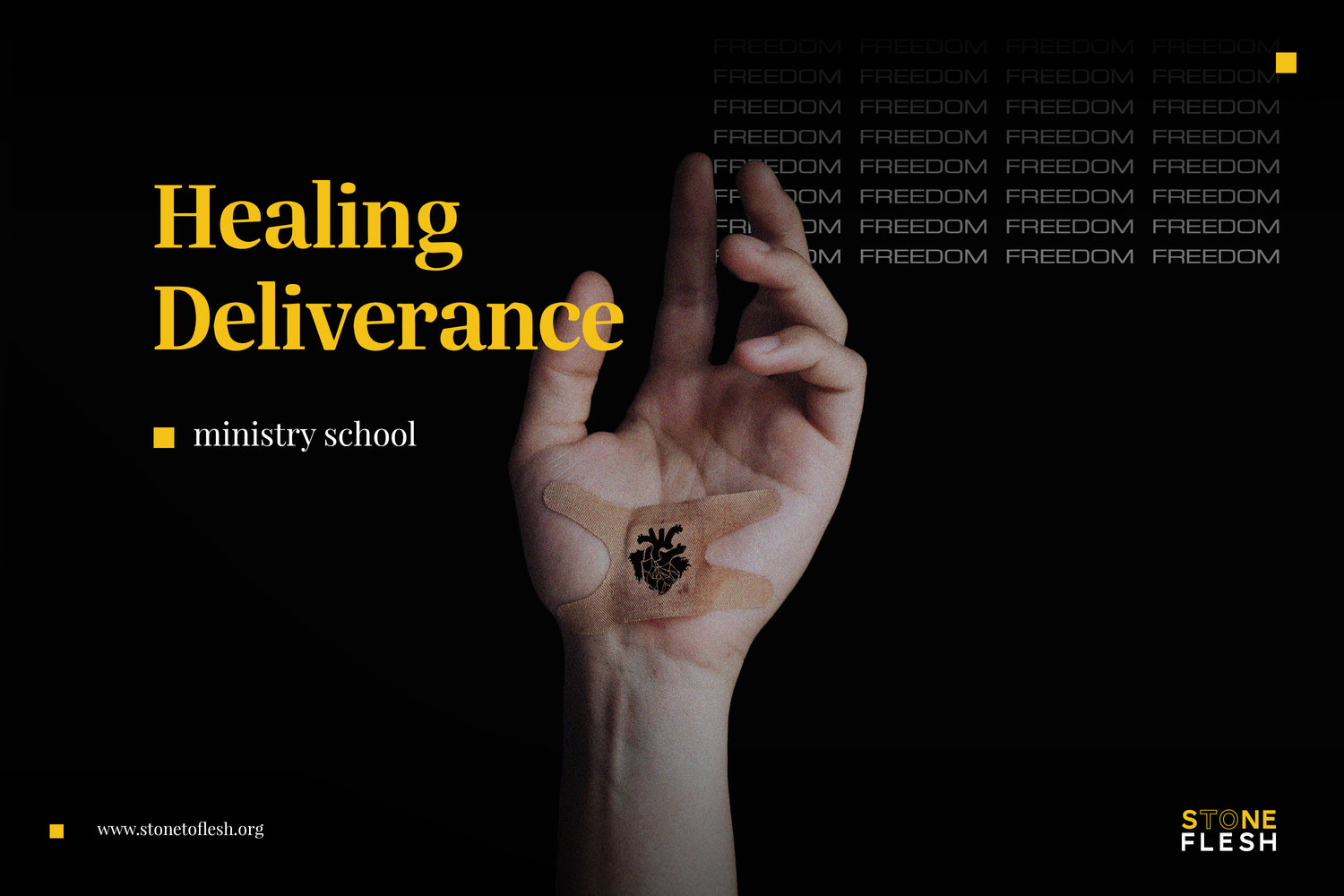 Healing and Deliverance School — Stone to Flesh