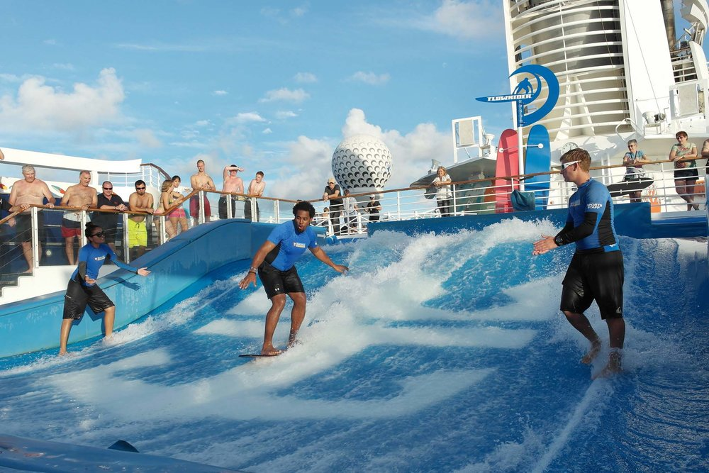 Surf on a Cruise Ship