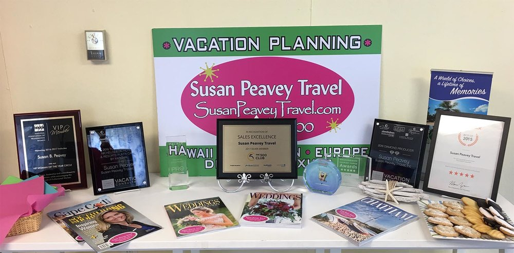 Susan Peavey Travel Awards & Accolades