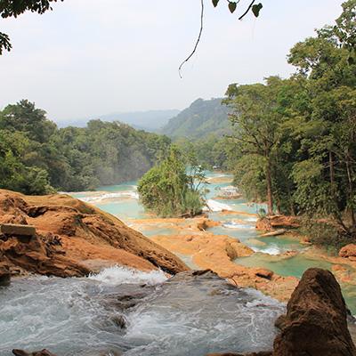 Canva - Mexico, Agua Azul, Nature, Chiapas, Blue Water, Water.jpg