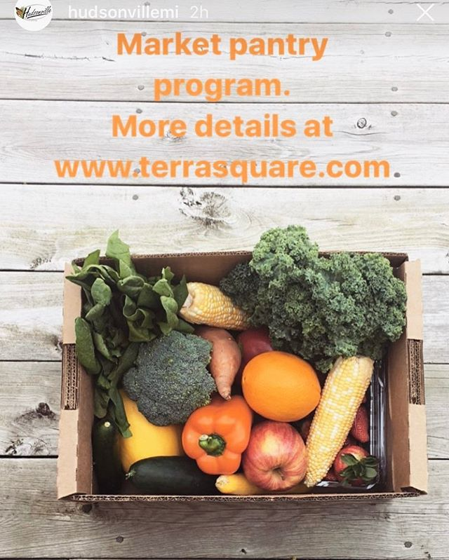 Love that my little community is tapping back into their agricultural roots. Can't wait to get started with this new program #shoplocal #farmersmarket #eatrealfood @hudsonvillemi