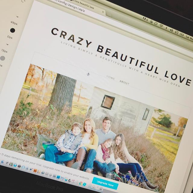 Blogging...I just can't quit you. Something new coming very soon! (shout out to my girl @kellybramanphotography for the beautiful family portrait ❤️)