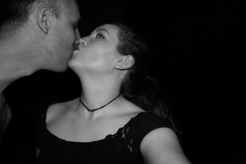Kiss a random stranger.