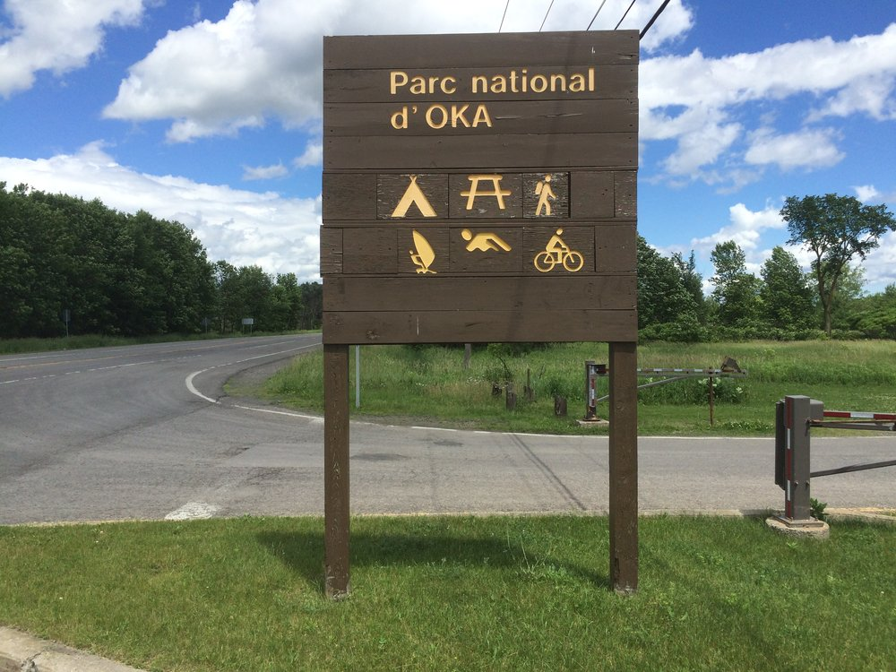 Remember learning about Oka in Grade 10 history, really cool to see it in person.