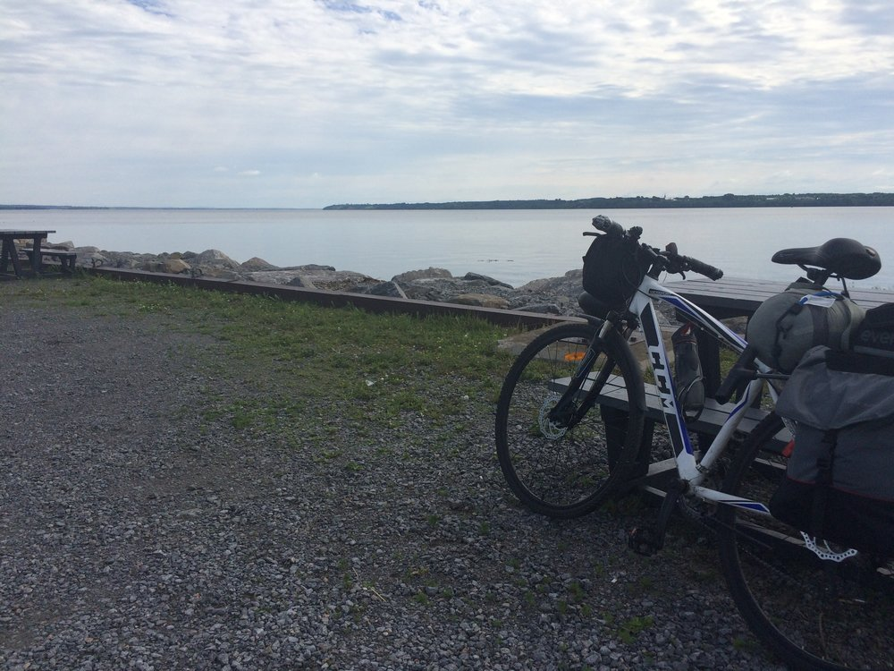 Still biking along the St. Lawrence!