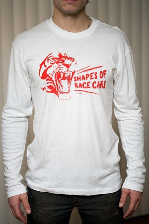 Shapes of Race Cars long sleeve t-shirt