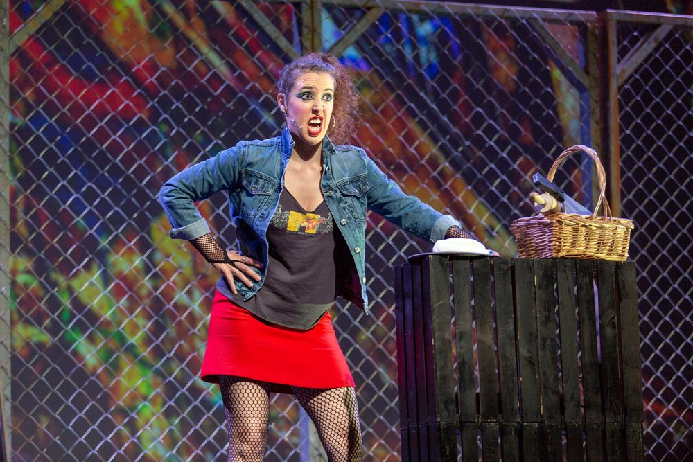 Mrs. Lovett ( Sweeney Todd ) at Hawai'i Performing Arts Festival (Credit: Big Island Music Magazine)