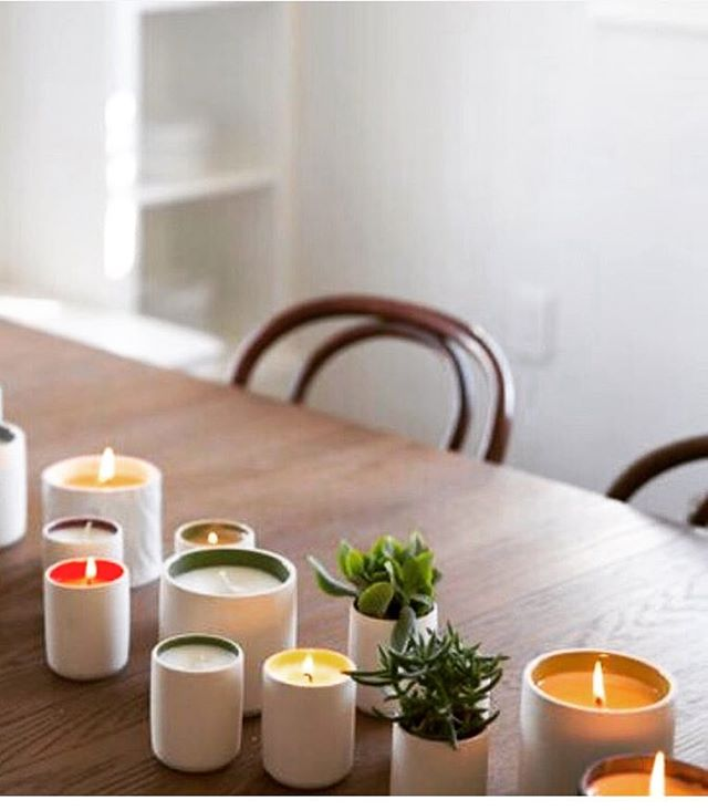 Brand Spotlight ✨ Standard Wax started as a ceramics company and now makes incredible candles that are designed to be repurposed...to hold succulents, pretty pencils or even tea. 😍 ....................................................................... #capsulechicago #comingsoon #beverly #september2017 #giftstogive #standardwax #chicagoboutique #repurposed #treatyoself