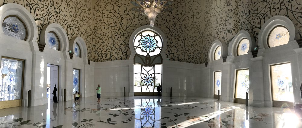 Pano Inside Mosque