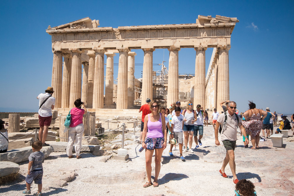 Another Parthenon view.