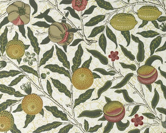 Fruit & Pomegranate  wallpaper by William Morris