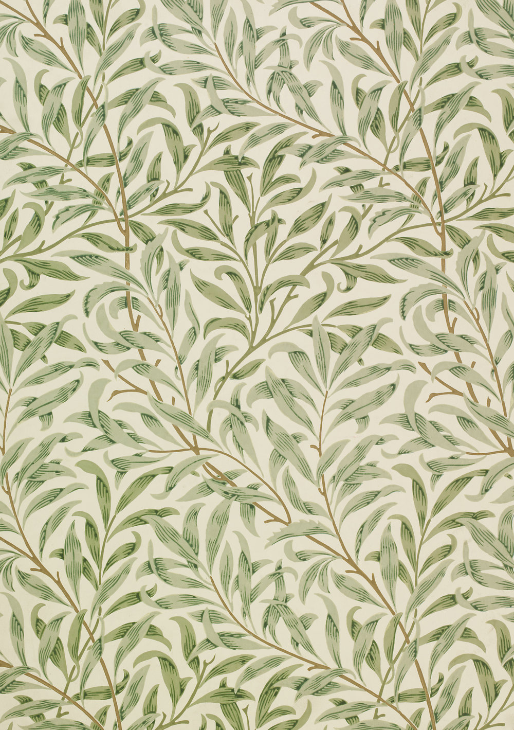 Willow Bough  wallpaper by William Morris