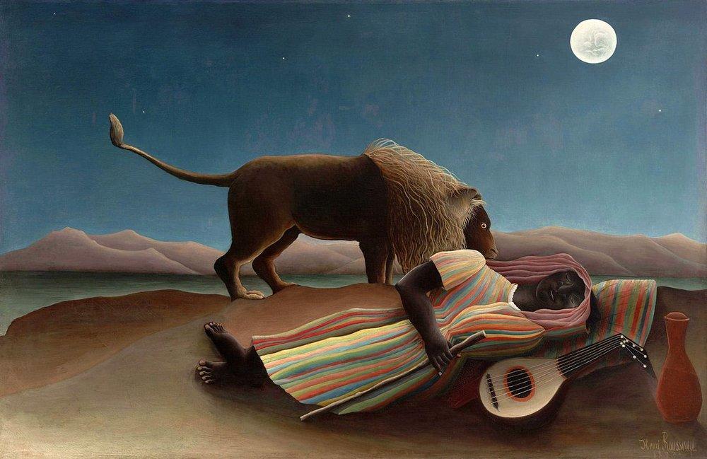 The Sleeping Gypsy, Henri Rousseau